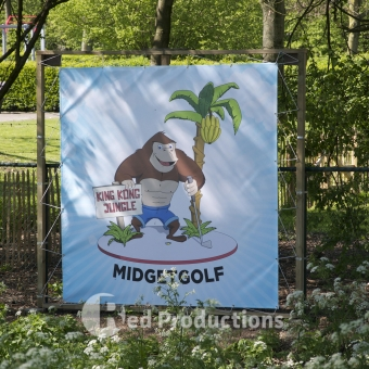 Opening Midgetgolf baan King Kong jungle