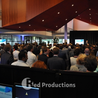 Red Productions in kleine congres setting